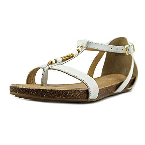 Adam Nikki Open Opal Sandal Toe Tucker White 6 Womens rq6xwprWfA