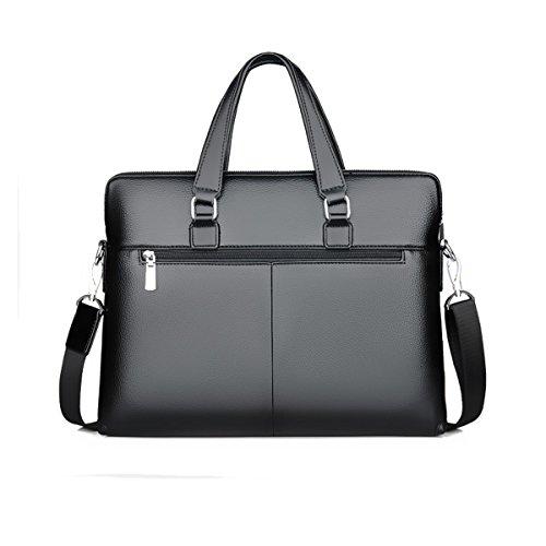 Männer Handtaschen Business Taschen Schultertasche Rucksack Lässig Aktentasche Blue