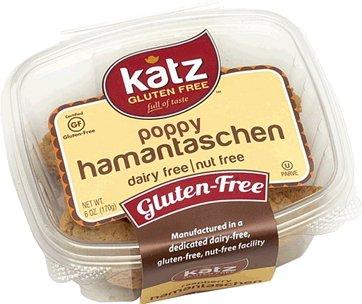 Katz Gluten Free Poppy Hamantaschen, 6 oz, (Pack of 6)