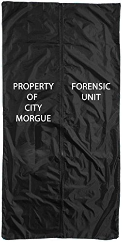 Forum Novelties Body Bag Zombie Black 5'10 x 22 Inches (Party City Zombie Costume)