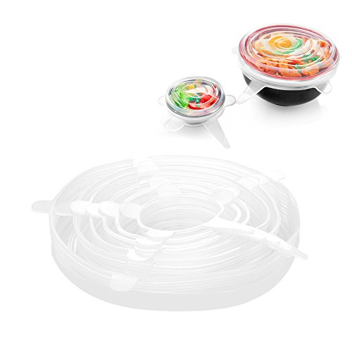 Flexzion Silicone Lids Bowls Cover