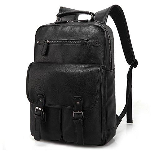 Leather Backpack Computer Daypacks Shoulder product image
