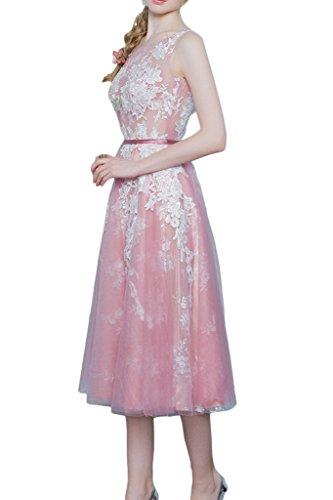 Promgirl House - Robe - Trapèze - Femme -  rose - 50