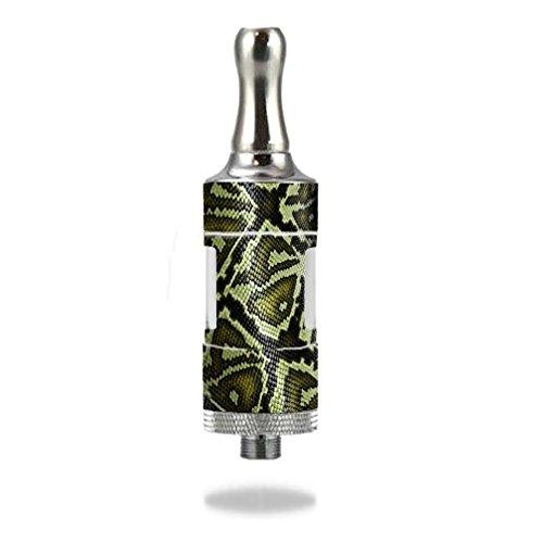 - Decal Sticker Skin WRAP/Kanger Protank 3 Dual Coil/Green Snake Skin