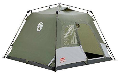 - Coleman Water Repellent Instant Tourer Unisex Outdoor Pop-up Tent Available in Green - 4 Persons