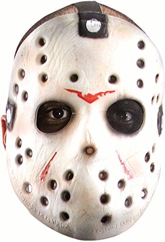 Friday The 13th Jason Voorhees Original Hockey Mask, Gray, One -