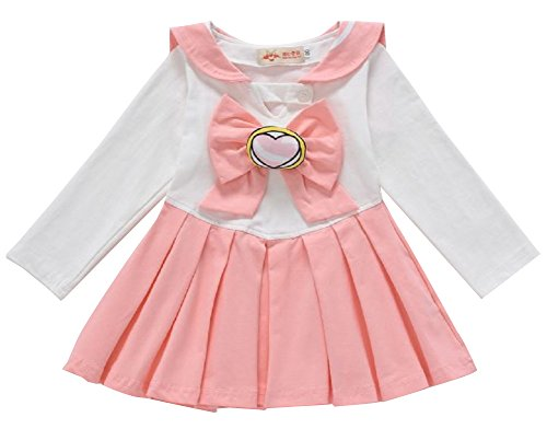 P's-JAPAN Sailor Moon Anime Cosplay Costume Toddler Girls