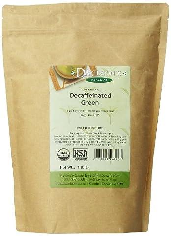 Davidson's Tea Bulk, Decaf Green, 16-Ounce Bag