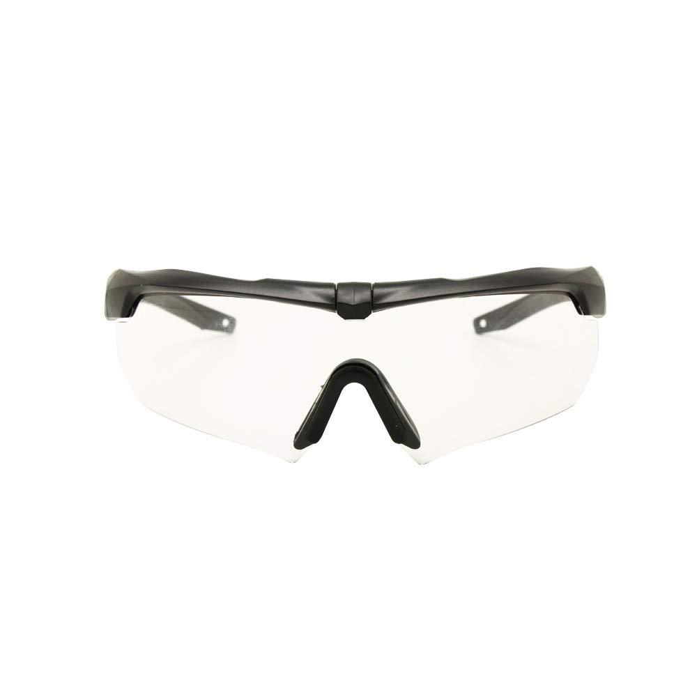 EnzoDate Balística Militar Gafas 3LS, 4LS o 5LS Kit, Gafas de Sol del ejército polarizado de los Hombres Eyeshield táctico