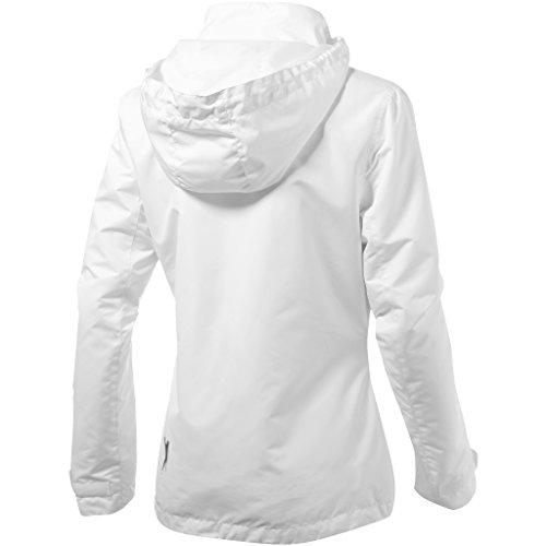 Para Slazenger Blanco Chaqueta Spin Top Mujer t0g0R