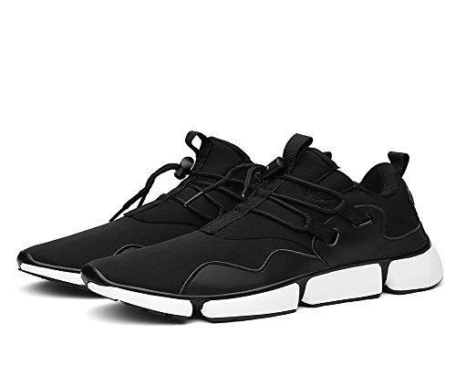 Hombres Ejercicio Zapatos Otoño Invierno Color sólido Transpirable Ocio Zapatos , black , UK 9.5 / EU 44 UK 9.5 / EU 44|black