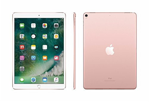 2017 New IPad Pro Bundle (4 Items): Apple 10.5 inch iPad Pro with Wi-Fi 512 GB Rose Gold, Leather Sleeve Midnight Blue, Apple Pencil and Mytrix USB Apple Lightning Cable by uShopMall (Image #3)
