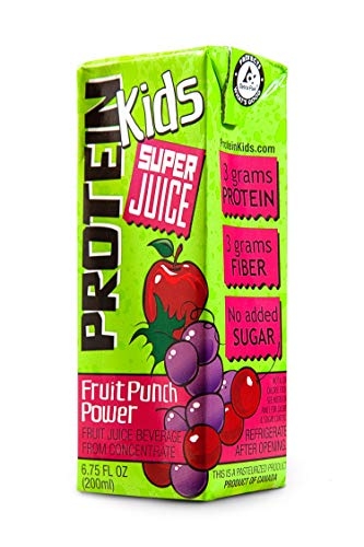 Protein Kids Super Juice Boxes 24 Pack (Fruit Punch Power)
