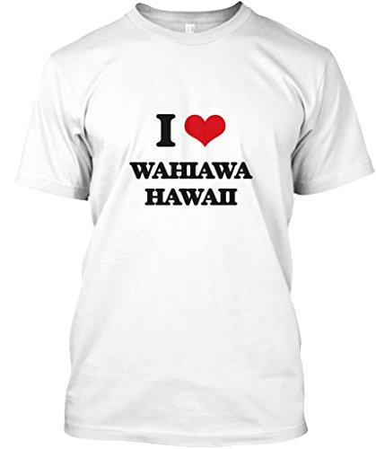 Mug Hawaii White (I Love Wahiawa Hawaii - M - White - Premium Tee)
