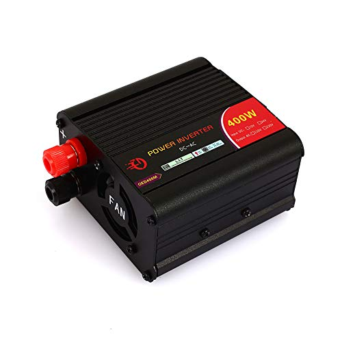 Duoying Power Inverter Car Converter Convenient 12V to 220V 400W Modified Sine Wave Actual Fan Vehicle