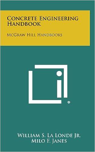 Concrete Engineering Handbook: McGraw Hill Handbooks