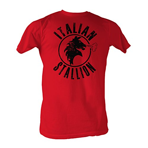 Rocky MGM Movie Red Stallion Adult T-Shirt Tee