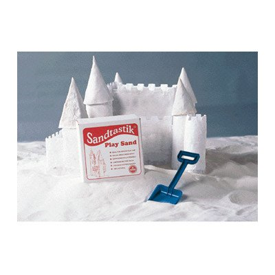 Sandtastik 358470 25.-LB-BOX-REG Play Sand, White