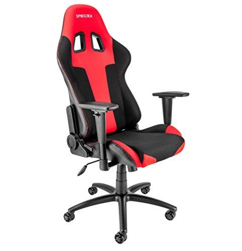Spieltek Berserker Gaming Chair (Red) Spieltek
