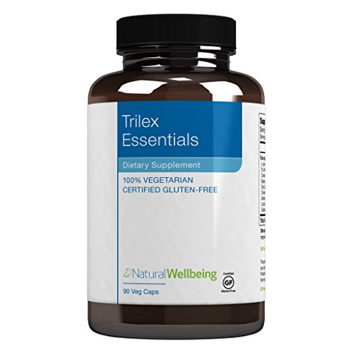 Natural Wellbeing - Trilex Natural Cold Sore Formula - Natural Support for Cold sores and Painful Blister outbreaks - 90 Capsules (Best Natural Cure For Cold Sores)