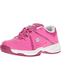 Wilson Envy Jr Tennis Shoe - Rose/Violet/White