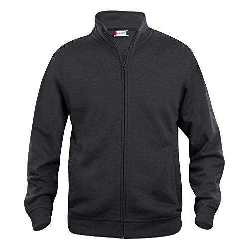 Felpa Full Cardigan Forti Maxfort Nero Taglie Uomo zip No Cq021038 rwprgaqOA