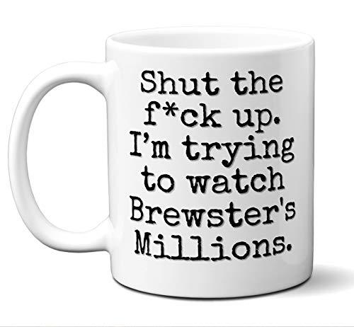 Brewster's Millions Gift Mug. Funny Parody Movie Lover Fan