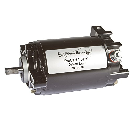 ELM Products Compatible with Evinrude Johnson Starter 12V Gear Reduction 90-115 HP 1997+ 80 100 HP - Gear Starter 12v