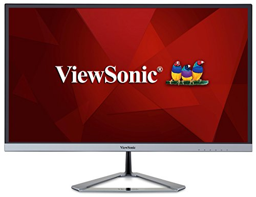 ViewSonic VX2476-SMHD 24' IPS 1080p Frameless LED Monitor HDMI, DisplayPort