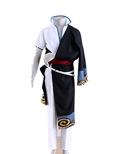 Love Jump Gintama Cosplay Costume-Sakata Gintoki 5Pcs Set
