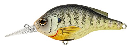 Koppers Flat Sided Suspending Crank Lure, 2-3/4-Inch, Bluegill Natural For Sale