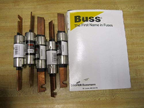 Bussmann FRS-R-100 Fusetron Fuse FRSR100 (Pack of 5) from Bussmann