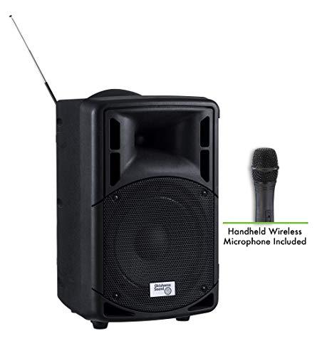 Oklahoma Sound PRA-8000/PRA8-5 Series Pro Audio Pa System with Handheld Mic, 17