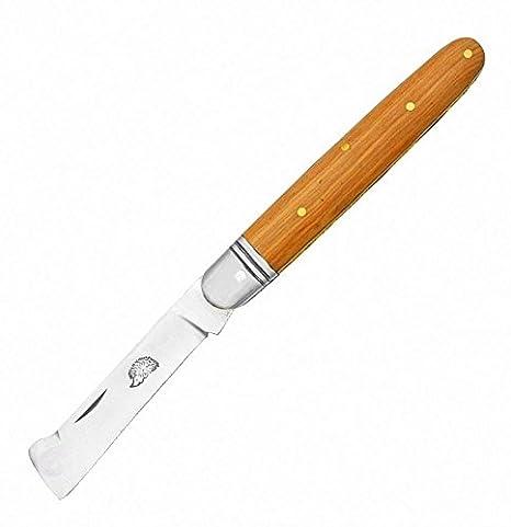 3648 Greffoir 10 cm madera de teca con mango classic French ...