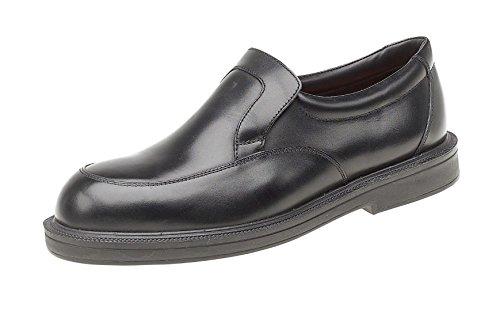 Himalayan 9910-12 doppia densità per scarpe di sicurezza da infilare, taglia: 46, colore: nero