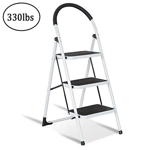 Telescoping Ladder 12 5ft Aluminum Double Side Extension