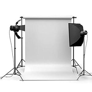 MyZenStore 90x150cm 3x5ft Pure White Vinyl Studio Photography Backdrop Props Background
