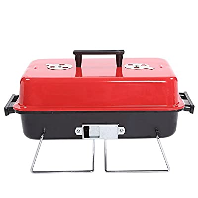 Portable Charcoal Grill Outdoor thickened Stainless Steel Charcoal Grill from YANXUS