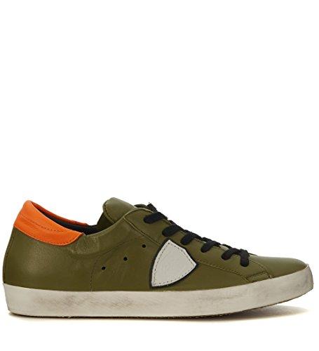 Sneakers Philippe Model Classic en piel verde Verde