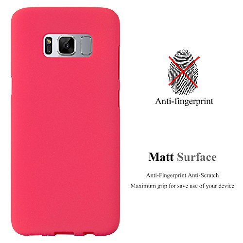 Cadorabo - Cubierta protectora para >                                  Samsung Galaxy S8 PLUS                                  < de silicona TPU en diseño Escarcha
