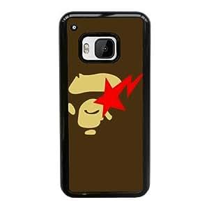 caja del teléfono celular Funda HTC uno M9 funda Negro logotipo F6H3MT bape