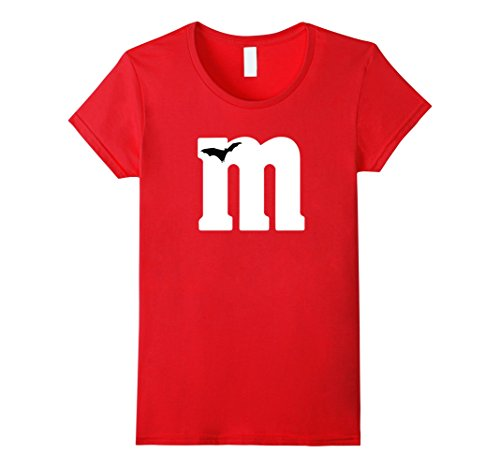 Womens M Candy Halloween Costumes Tshirt Small (M For M&m Costume)