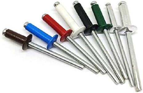 Rivetto Alluminio Preverniciato 100pz 3,2X9 RAL 3009