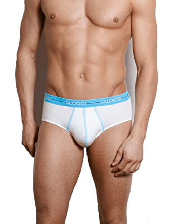 f3545f6fd4fc Sloggi Men Start Midi Briefs (2 Pack) (L): Amazon.co.uk: Clothing