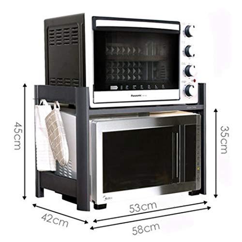 Estantes De CocinaEstante del horno microondas, estante del horno ...