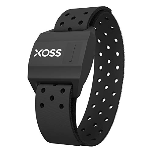 XOSS Hartslagmeter Bluetooth/ANT + voor smartphone en fietscomputer Borstband/armband Hartslagsensor Hardlopen Sport