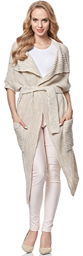 Merry Style Cardigan para mujer MSSE0028 Nude