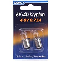 Dorcy 6/4d-4.8-volt, 0,75A base de bayoneta Krypton–Bombilla