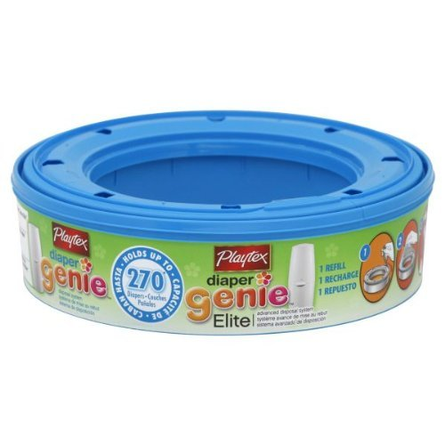 Diaper Genie Playtex Diaper Genie Elite Disposal System Refill, Advanced, (Pack of 3)