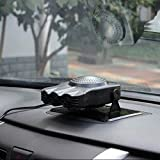 Heating & Fans - Hot 150W 12V Car Parking Heater Electric Heating Cooling 2 in 1 Fan Portable Auto Dryer Heated Windshield Defroster Demister - (Ships From: China)